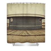 Memories In The Sand Shower Curtain by Evelina Kremsdorf