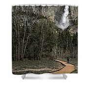 Memories Of Yosemite Shower Curtain by Eduard Moldoveanu