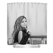 Memories Of You Shower Curtain by Evelina Kremsdorf