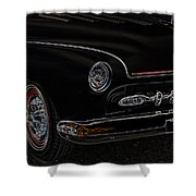 Mercury Glow Shower Curtain by Steve McKinzie