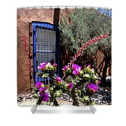 Mesilla Cholla Shower Curtain by Kurt Van Wagner