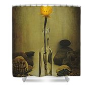Message Of Love IIi Shower Curtain by Marco Oliveira