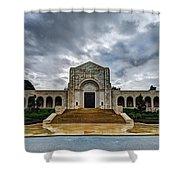 Meuse-argonne Tribute Shower Curtain by Chad Dutson
