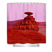 Mexican Hat  Shower Curtain by Jeff Swan