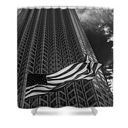 Miami Southeast Financial Center Shower Curtain by Rene Triay Photography