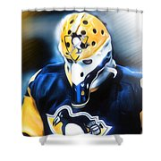 Michel Dion Shower Curtain by Mike Oulton