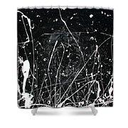 Midnight Weeds Shower Curtain by Ric Bascobert