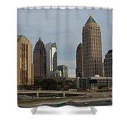 Midtown Atlanta Shower Curtain by Reid Callaway
