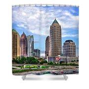 Midtown Atlanta Too Shower Curtain by Reid Callaway