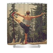 Mindbody Shower Curtain by Laurie Search