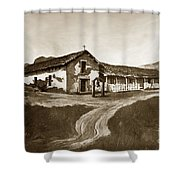 Mission San Rafael California  Circa 1880 Shower Curtain by California Views Mr Pat Hathaway Archives
