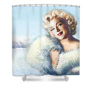 Mm 126 D 4 Shower Curtain by Theo Danella