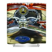 Model T Ford Shower Curtain by Robert Bales