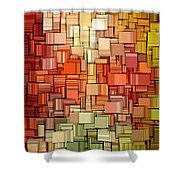 Modern Abstract Viii Shower Curtain by Lourry Legarde