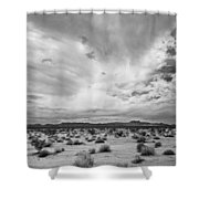 Mojave National Preserve Shower Curtain by Mike Herdering