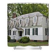 Moore House Yorktown Shower Curtain by Teresa Mucha