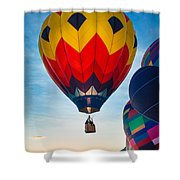 Morning Flight Shower Curtain by Inge Johnsson
