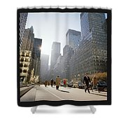 Morning In America Shower Curtain by Shaun Higson