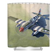 Morning Mission Shower Curtain by Wade Meyers