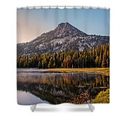 Morning Mist Shower Curtain by Robert Bales