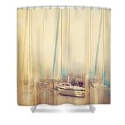 Morning Sail Shower Curtain by Amy Weiss