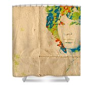 Morrison Watercolor Splash Shower Curtain by Paulette B Wright