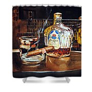 Mosaic Reflections Shower Curtain by Spencer Meagher