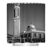 Mosque Shower Curtain by Erik Brede