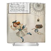 MOTHER GOOSE, 1915 Shower Curtain by Granger