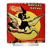 Mother Goose Shower Curtain by Bill Cannon