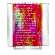 Mother If I Could Give You 2 Shower Curtain by Barbara Griffin