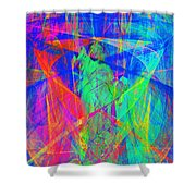 Mother of Exiles 20130618 Shower Curtain by Wingsdomain Art and Photography