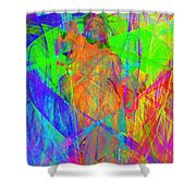 Mother Of Exiles 20130618m120 Long Shower Curtain by Wingsdomain Art and Photography