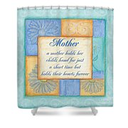 Mother's Day Spa Shower Curtain by Debbie DeWitt