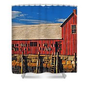 Motif No 1 Shower Curtain by Joann Vitali