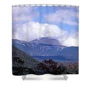 Mount Washington Shower Curtain by Skip Willits