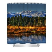 Mountain Vista Shower Curtain by Randy Hall