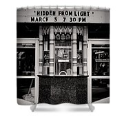 Movie Theater Shower Curtain by Rudy Umans