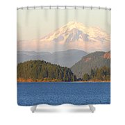Mt Baker Shower Curtain by Brian Harig