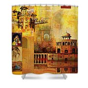 Mughal Art Shower Curtain by Catf
