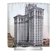 Municipal Building Shower Curtain by Granger