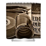 Music The Beginning Shower Curtain by Paul Ward