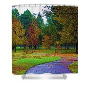 My Autumn Shower Curtain by Heidi Smith