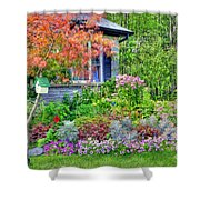 My Corner Of The World Shower Curtain by Kathleen Struckle