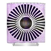 My Head Spins Shower Curtain by PainterArtist FIN