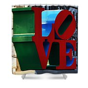 My Love  Shower Curtain by Bill Cannon
