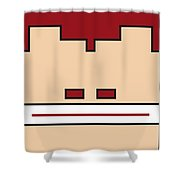 My Mariobros Fig 03 Minimal Poster Shower Curtain by Chungkong Art