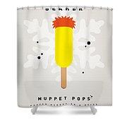 My Muppet Ice Pop - Beaker Shower Curtain by Chungkong Art