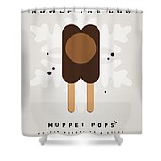 My Muppet Ice Pop - Rowlf Shower Curtain by Chungkong Art