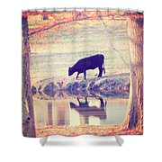 My Own Paradise Shower Curtain by Amy Tyler